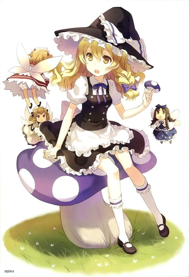 Marisa, Sunny, Luna, and Star