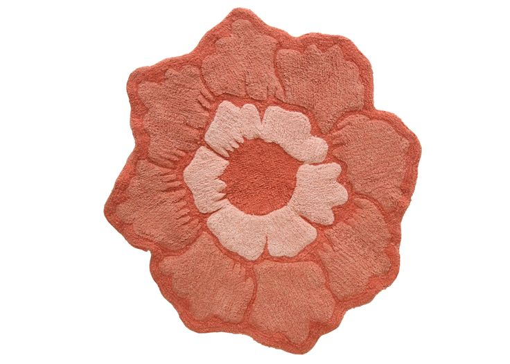 Bath mat from the Jessica Simpson Bath Collection.