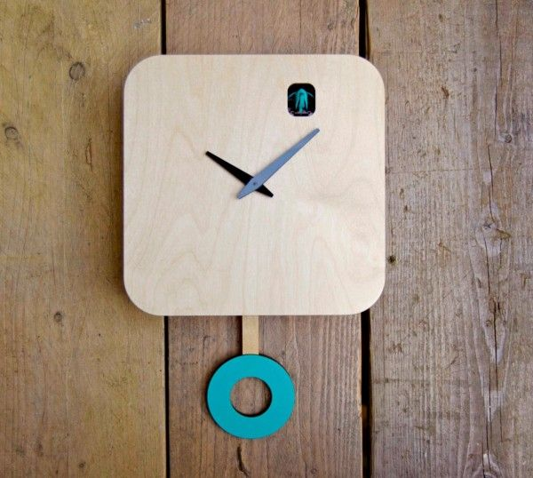 Modern pendulum clock ideas