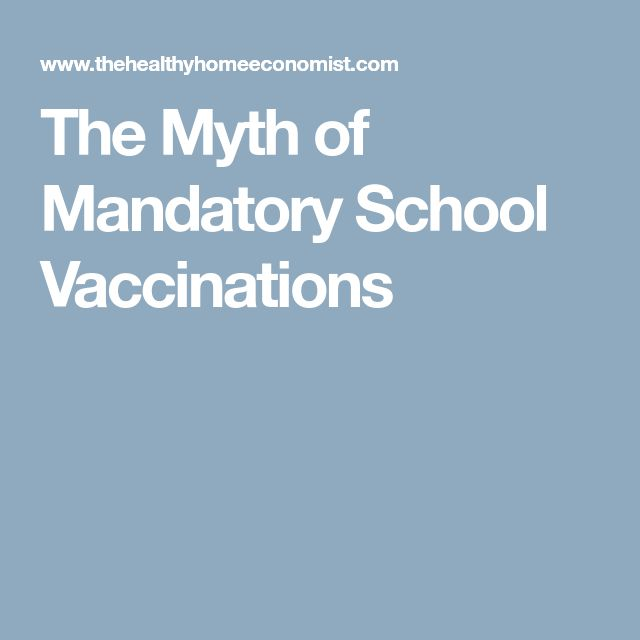 the importance of mandatory series of vaccinations in our society Tious diseases in the united states, the role of mandatory vaccination in achiev­ ing that impact, and the constitutional basis for these mandates the chapter.