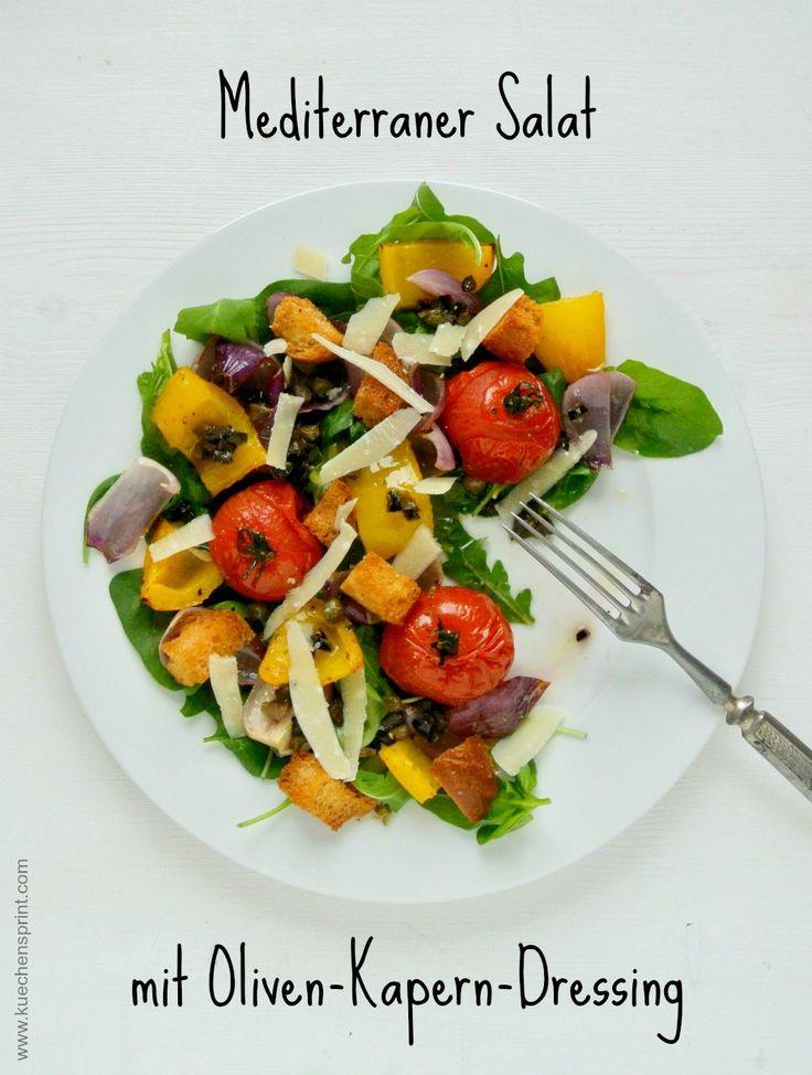 Die besten 25+ Mediterraner salat Ideen auf Pinterest Nudelsalat - leichte mediterrane k che rezepte