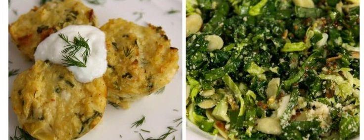 patatesli mucver  mecverin yanına salata - 11.11.2015