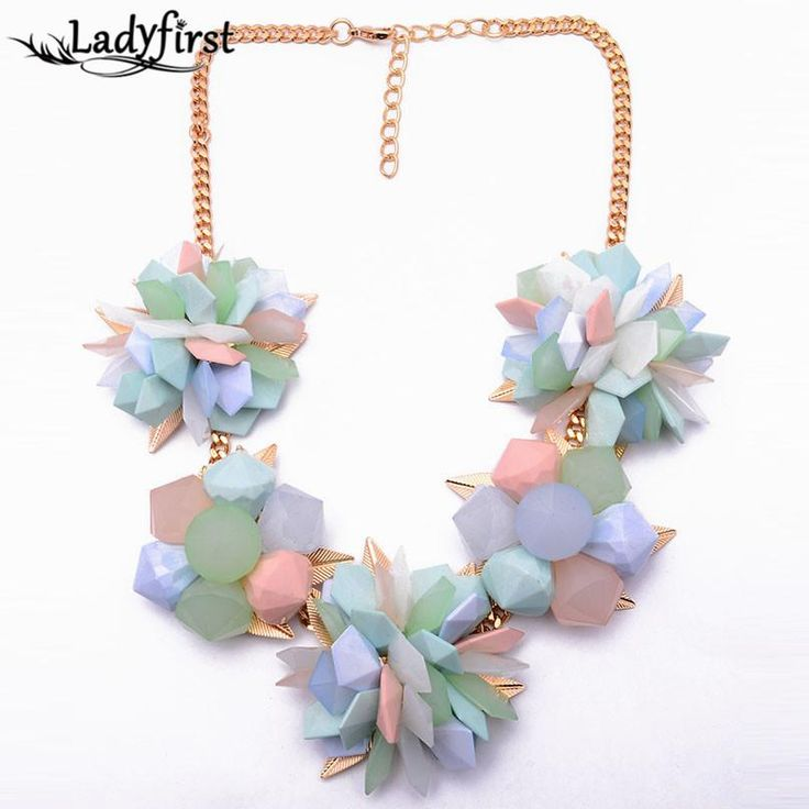 Spring  Flower Color Women Choker Resin Candy Color ZA Vintage Luxury Necklace Good Statement Jewelry8470 Like if you rememberVisit our store --->  http://www.jewelrydue.com/product/spring-new-flower-color-women-choker-resin-candy-color-za-vintage-luxury-necklace-good-statement-jewelry8470/ #shop #beauty #Woman's fashion #Products #homemade