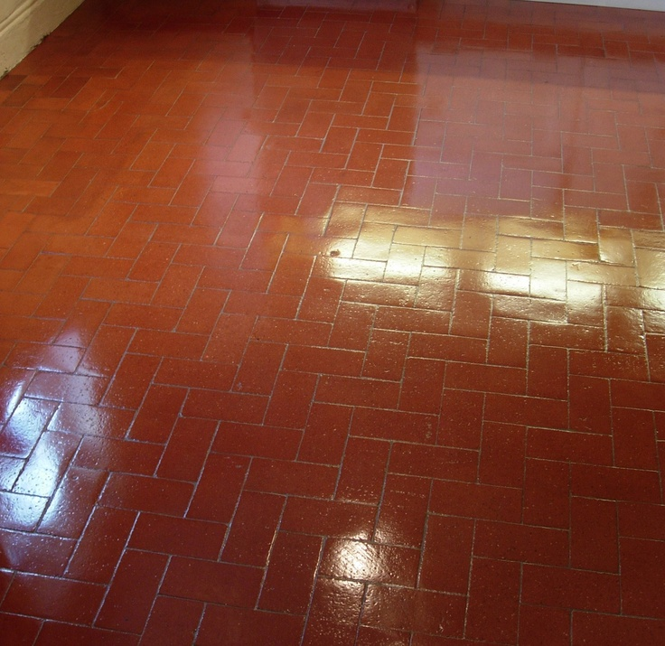 1000 ideas about quarry tiles on pinterest behr tiled for Kitchen quarry tile