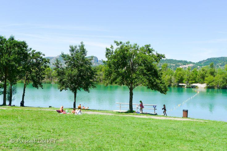 ORAF19 - Lac des Buissonnades - Village d'Oraison - Alpes de Haute Provence 04
