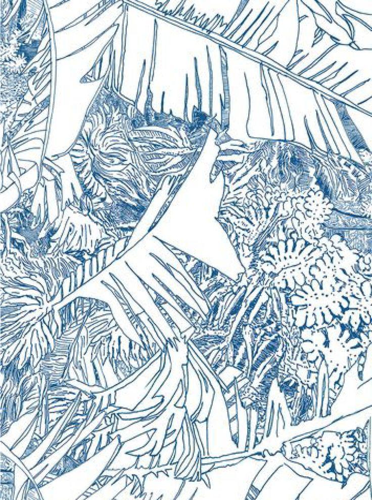 papier peint Jungle via Goodmoods