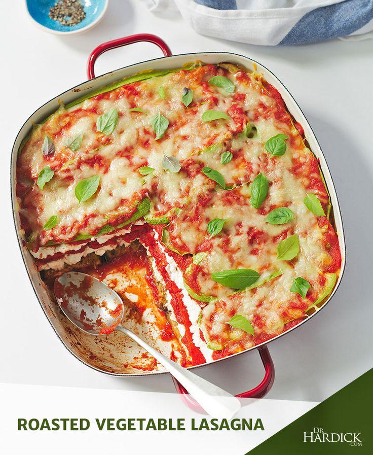 DrHardick.com | Roasted Vegetable Lasagna | http://drhardick.com
