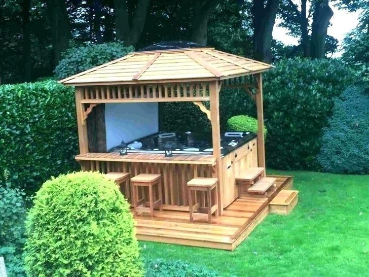 Diy Gazebo Plans Hot Tub Gazebo Plans Hot Tub Gazebo Plans Hot Tub Enclosure Ideas Hot Tub Gazebo Plans Diy Bbq Gazebo Pl Hot Tub Gazebo Gazebo Backyard Gazebo