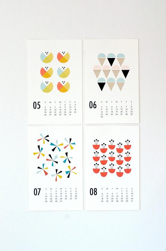2013 wall calendar.
