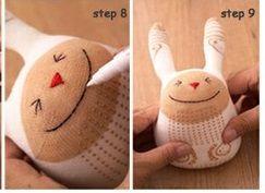 DIY doudou / chaussette