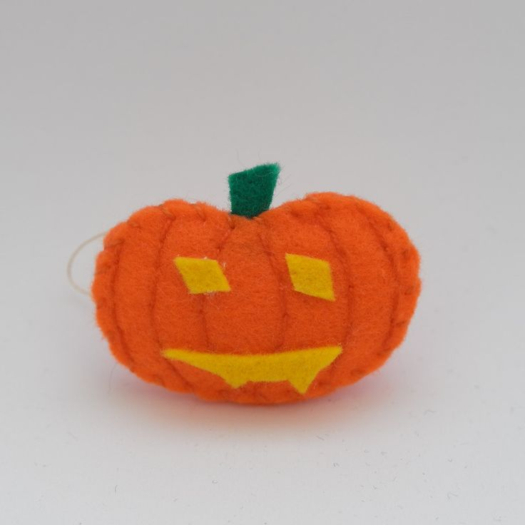 Vampire pumpkin - trick or treat, halloween decor, halloween ornament, hanging ornament, hanging decor - by HalloweenOrChristmas on Etsy