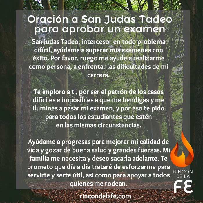 Descubre las oraciones a San Judas Tadeo para aprobar un examen. Demuéstrale tu agradecimiento con las mejores peticiones y que te ayude en tu camino.