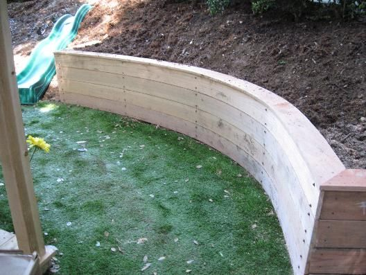 Best 20 Wood Retaining Wall ideas on Pinterest Garden