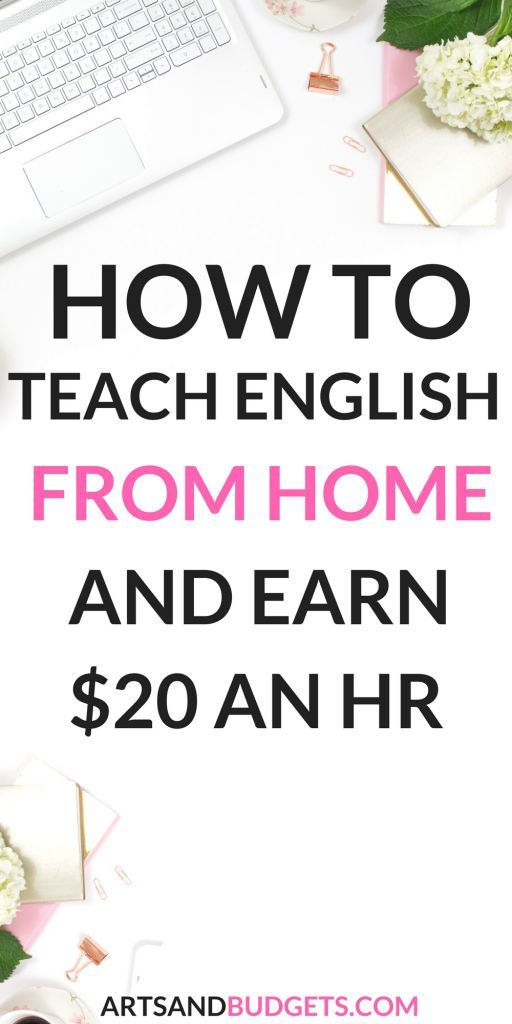 Are you looking to make extra money and work from home? If so this post shares how you can Teach English from Home and Earn $20 an Hour. | Work from home | Ways to make money from home | Make extra money| Side hustle| Ways to make money online| Make money fast| Make money for college students #makeextramoney #makemoneyonline #moneytips