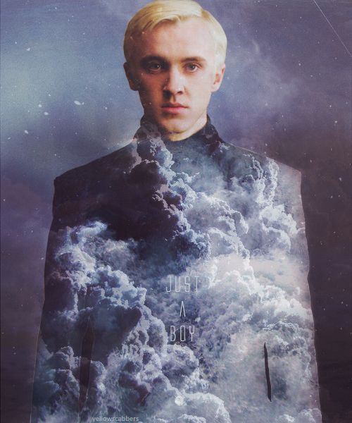 He was raised by wicked people, destined to do wicked things, and wicked he was. There was a point in which he decided the wickedness was too lonely, cruel, and frightening; he could do it no longer. He is Draco.