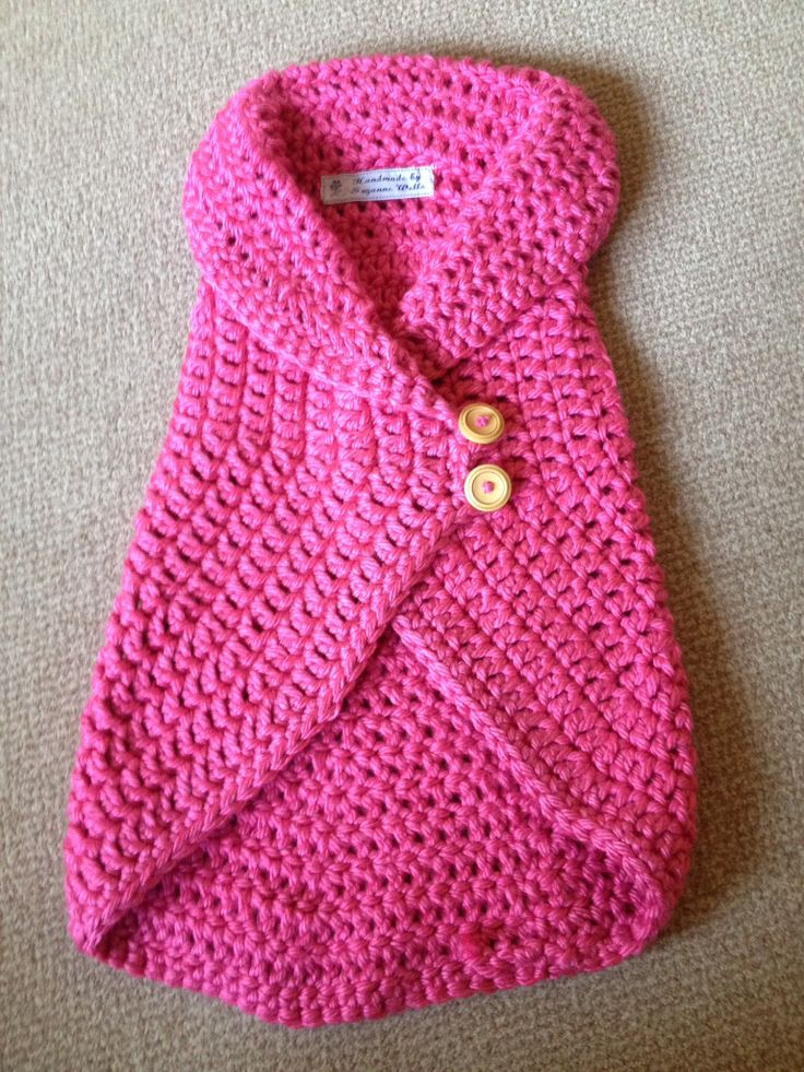 child's waistcoat pattern by Naturally Nora Crochet. https://www.etsy.com/shop/naturallynoracrochet