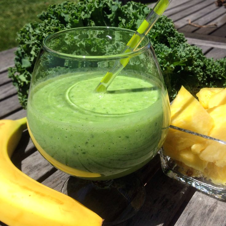 Tasty green smoothie!