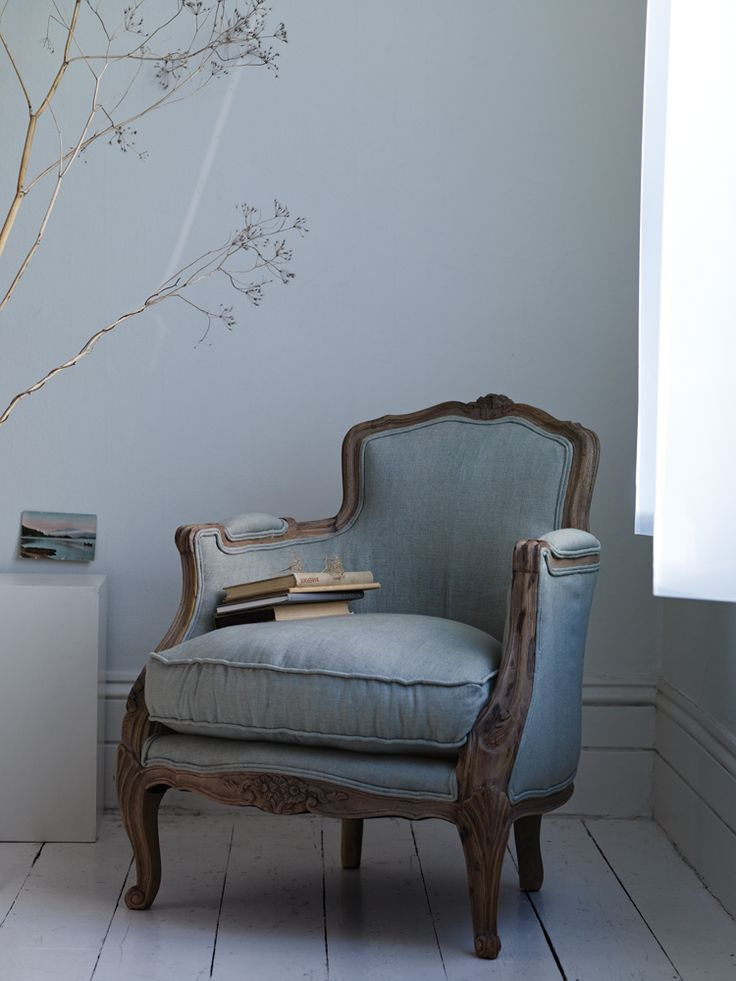 Carved Wooden chair gorgeous!! Every kitchen needs a quiet place to sit and read a good cookery book