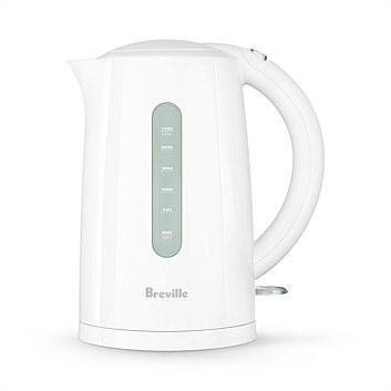 $39.99 (was $89.99) Breville BKE270WHT Soft Top Classic White Kettle 1.7Lt @ Briscoes - Bargain Bro