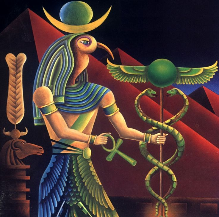 Thoth,God of Magick