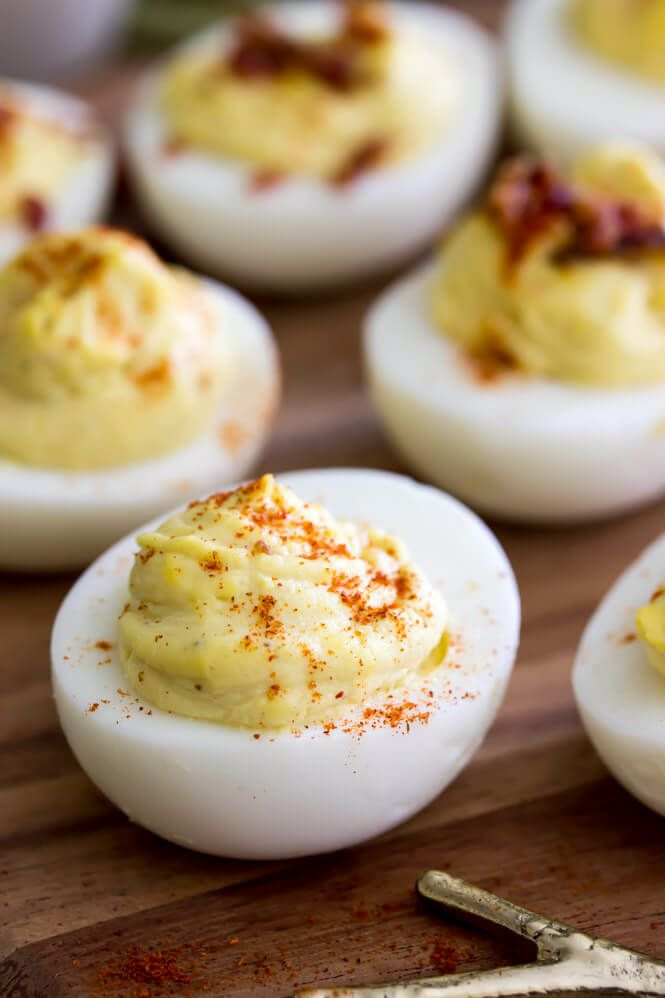 There are deviled eggs, and then there are these Million Dollar Deviled Eggs -- the best deviled egg recipe that includes a secret ingredient!