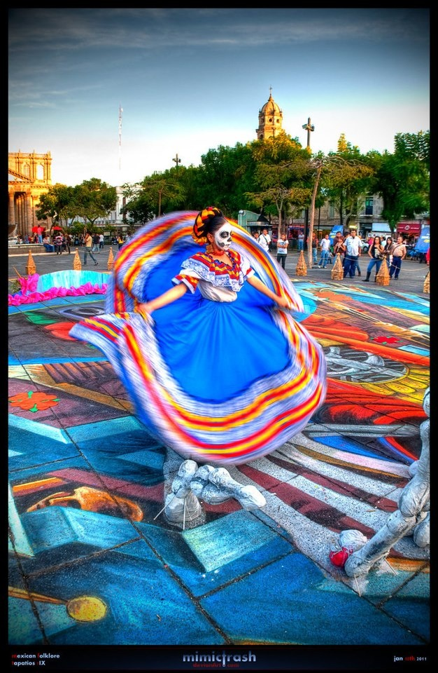 amazing photo #dayofthedead #catrina #mexico