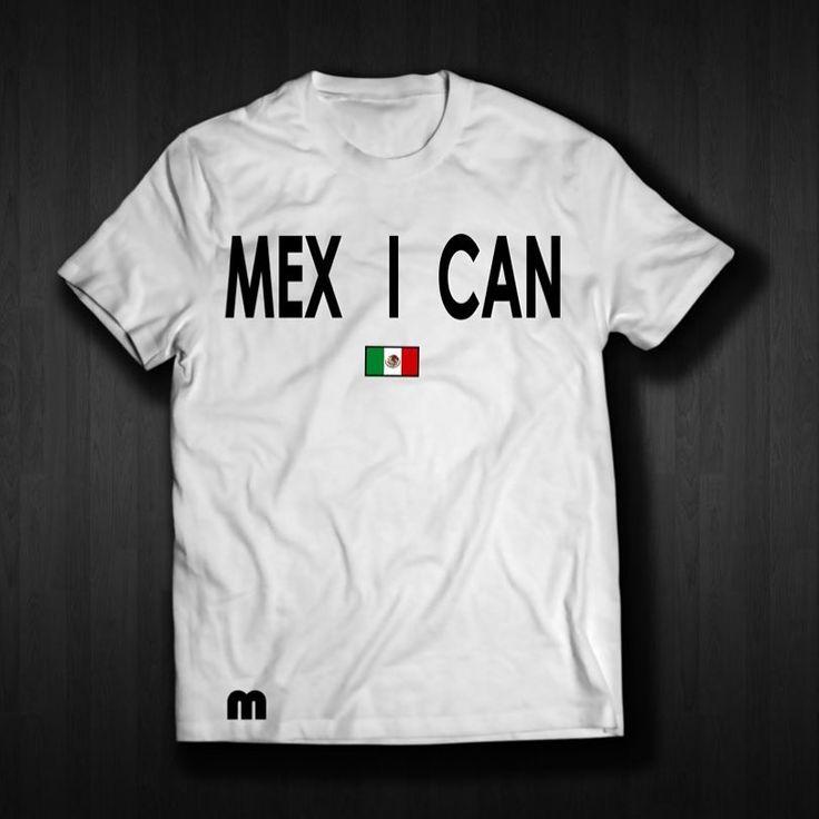 MEX I CAN  T Shirt @etsy.com/shop/mexicoviptshirts  #nayarit #playera #mexico #mexicoviptshirts#aztecs #chicano #chicanostyle #chicanoart #mexico #mexican #mexicanart #losangeles #chicago #chicana #chicanastyle #chicanatattoo #chicanas #chicanotattoo #chicanotattoo #chicanopride #latina #latino #latinas #latinoamericano #mexicanfood #mexican #nayarit #tepic #guanajuato #hechoenmexico #madeinmexico