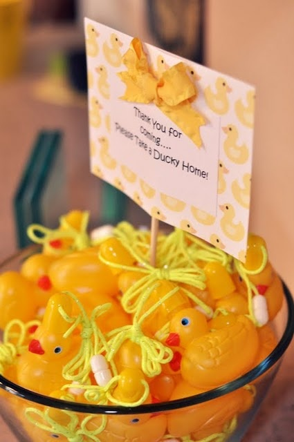 ducky party favors