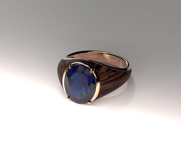 Tanzanite, Rose Gold ring