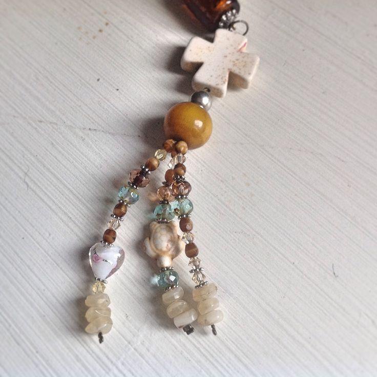 Porte clef bijoux de sac perles Swarovski : Porte clés par elowin-bijoux