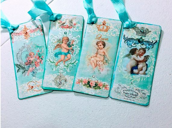 Beautiful handmade bookmarks made by Patti Adam and sold on Etsy.  A wonderfully varied life!