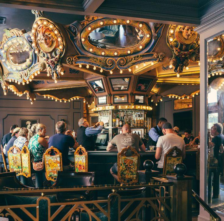 Take a seat at the Carousel Bar & Lounge.