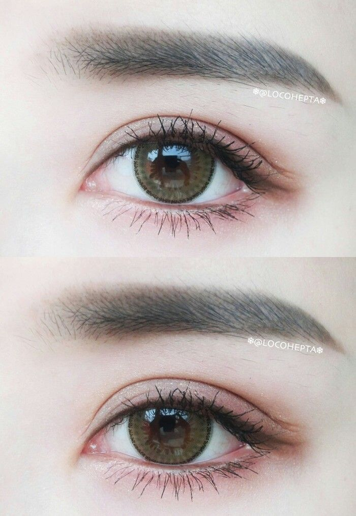 Natural make up #make up #idea