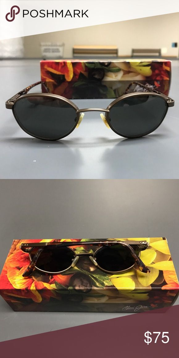 Men's Maui Jim aviators Excellent used condition. Comes with case and box. Do not know the model number. Polarized glass lenses. Bronze metal frame. I'm selling for a friend so will relay all questions/offers. Maui Jim Accessories Sunglasses