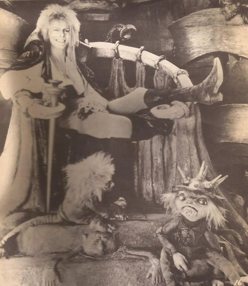 Jareth the Goblin King ( Rare because he's actually smiling)!!!