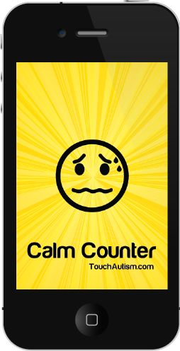 App that allows kids to choose different calm down strategies!