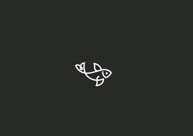 These Brilliant Minimal Logos Are Created With Just One Single Line - UltraLinx