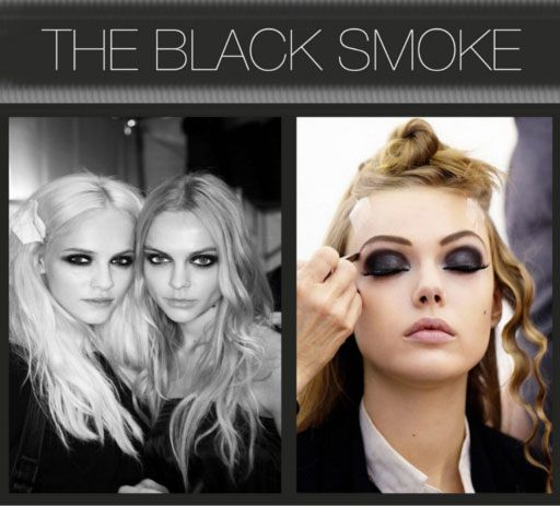 Finally, a way to do a black smokey eye and not look like you joined fight club... Although I doubt I can pull it off still.: Smoke Eye, Smokey Eyes, Black Smokey Eye, Smoky Eye, Dramatic Smokey Eye, Beauty, Smokey Eye Tutorial, Smokey Eye Makeup, Blacksmokey
