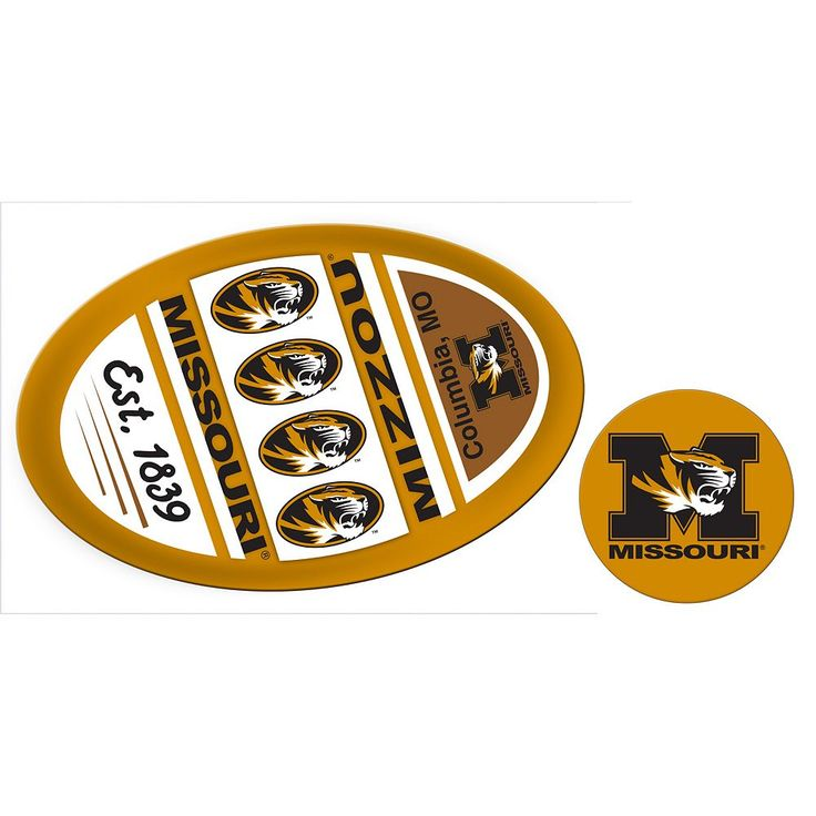 Missouri Tigers Game Day Decal Set, Multicolor
