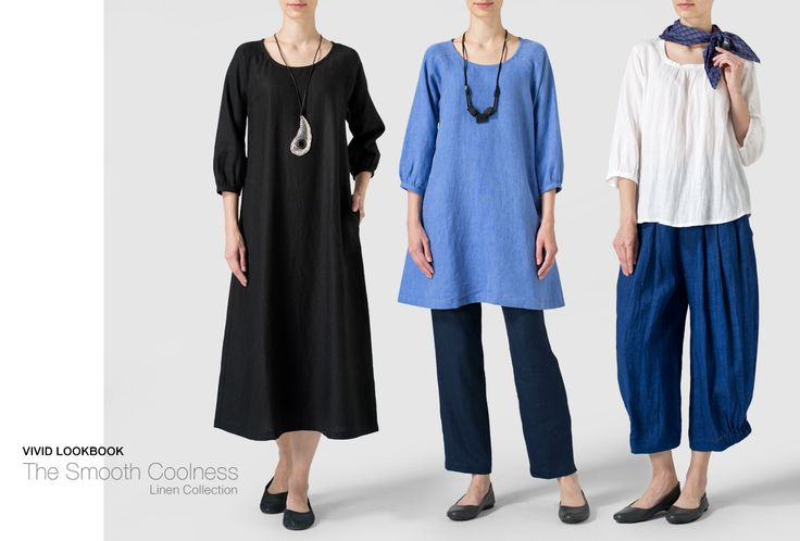 Vivid Linen | the smooth coolness