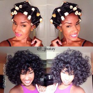 how to go natural after a perm