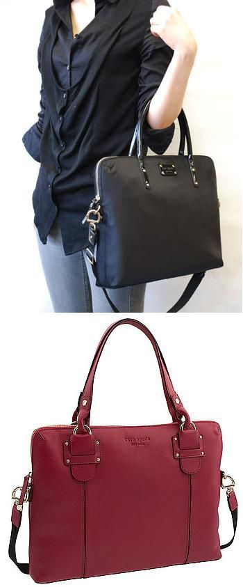 Kate Spade laptop bags... Calista (black, nylon) and Belle Meade (pink leather)... ahhhh when I have a proper job with a) the need for a swanky laptop bag and b) the salary to pay for one  Clothing, Shoes & Jewelry : Women : Handbags & Wallets : http://amzn.to/2jE4Wcd