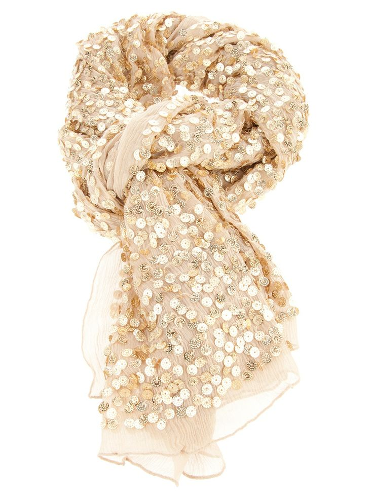 I really want this!! Where is it from?!Sparkle Scarf, Fashion, Dresses Up, Style, Clothing, Gold Sequins, Scarves, Accessories, Sequins Scarf