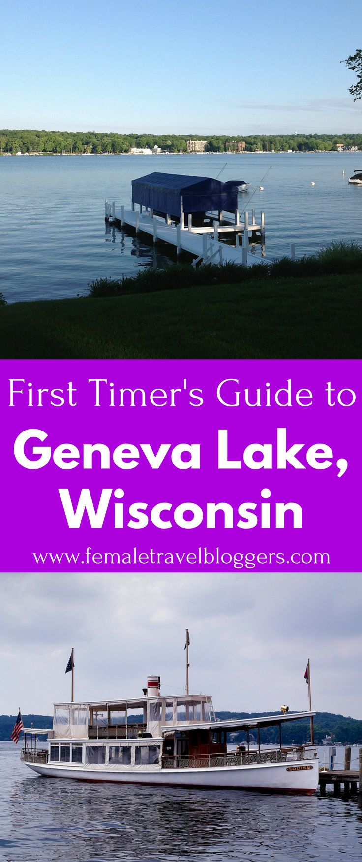Geneva Lake is a beautiful beach destination in the USA. If you're looking for a vacation spot in the USA, Geneva Lake is a beautiful one. This Geneva Lake guide includes places to stay in Geneva Lake, things to do in Geneva Lake, restaurants to try in Geneva Lake, and much more. Save this helpful Wisconsin travel guide to your travel board so you can find it later!