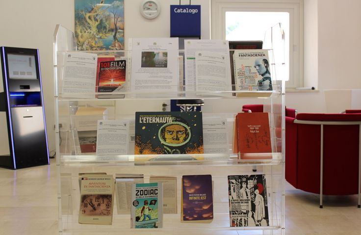 In occasione della Rassegna culturale Scienza e fantascienza tra conoscenza, inquietudine e meraviglia promossa dalla Biblioteca Provinciale nell'ambito dei programmi di promozione della lettura, l…