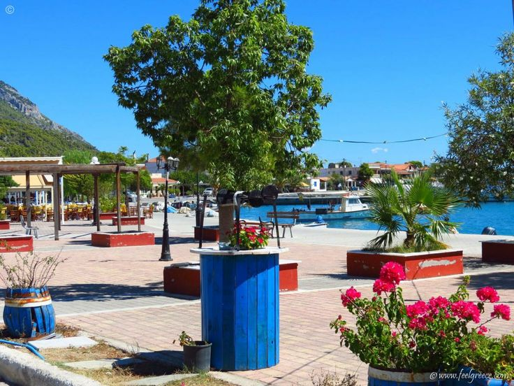 The deserted village aka Siesta time in Agios Georgios, Evia