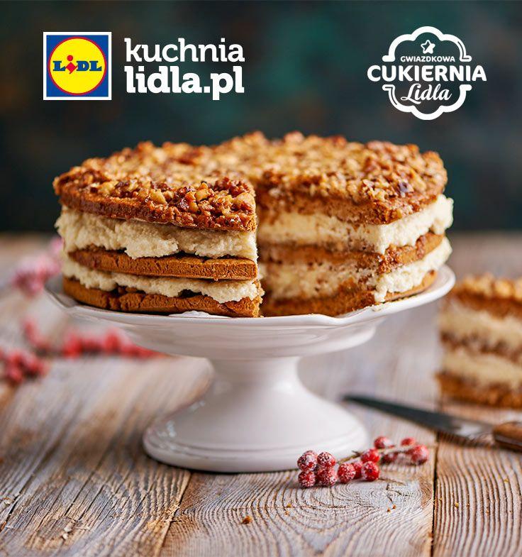 Bożonarodzeniowe ciasto miodowe. Kuchnia Lidla - Lidl Polska. #Pawel #lidl #honey #miodownik