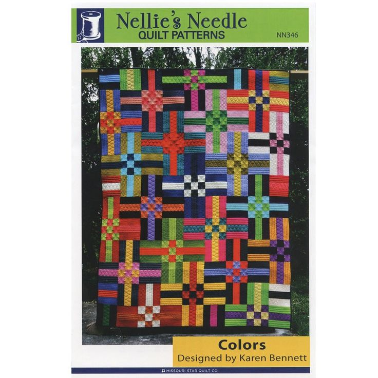 Colors Pattern - Karen Bennett - Nellie's Needle