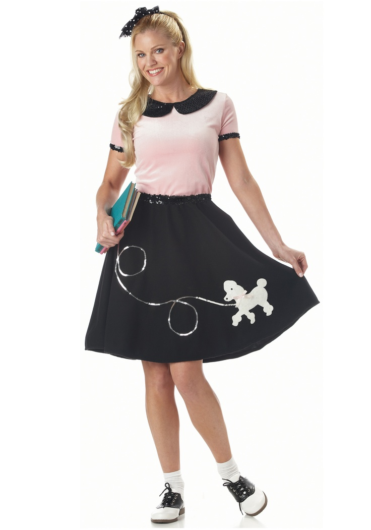 Adult Poodle Skirt Costumes Halloween Next Year