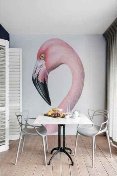 Blog de Damask et Dentelle » Blog Archive Birds of a feather: decorating with flamingos